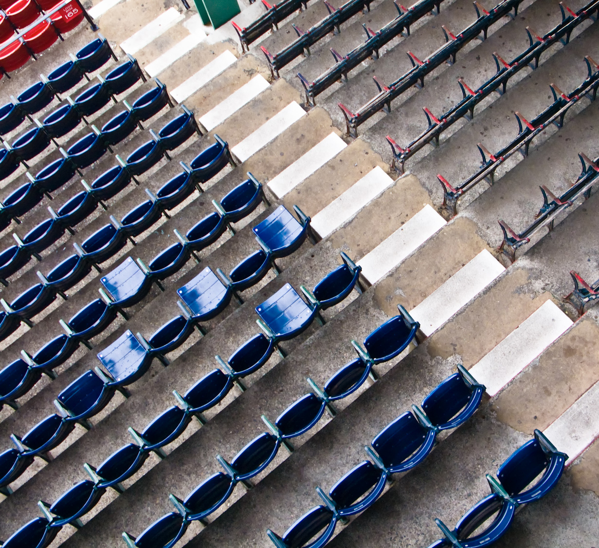 The oldest seats in baseball - Fenway Park